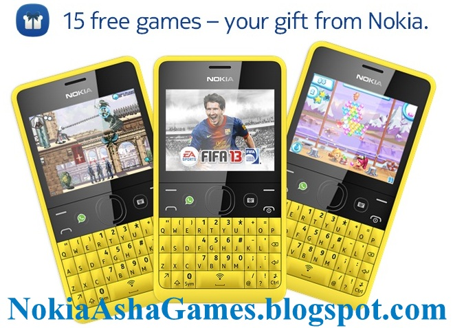 Download 15 free EA games on Nokia Asha 210 - Nokia Asha New