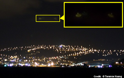 UFOs Spotted Over New Zealand Harbor 6-23-14