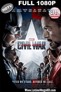 Capitan America: Civil War (2016) Subtitulado HDTV 1080P - 2016