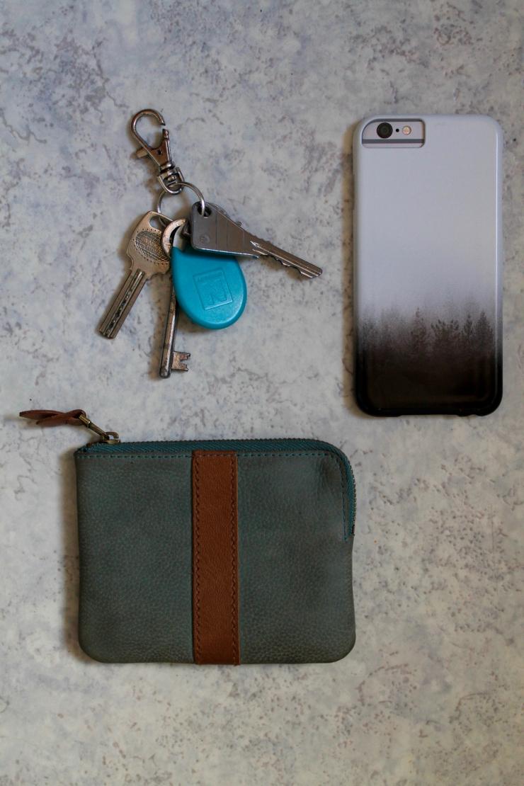 Parisian day bag essentials