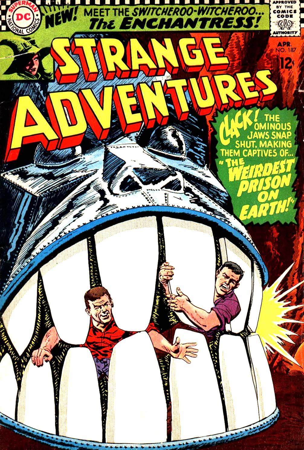 Strange Adventures (1950) issue 187 - Page 1