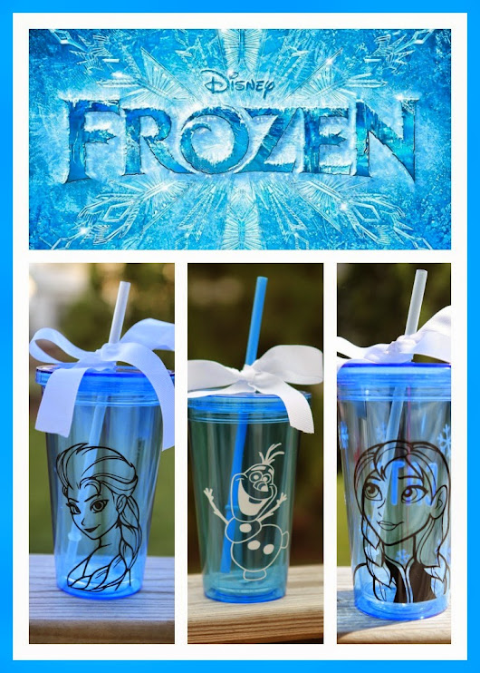 Personalized Frozen Cups