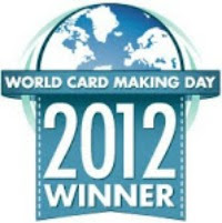World Card Making Day 2012 Winner