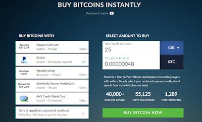 Jual beli bitcoin dengan paypal
