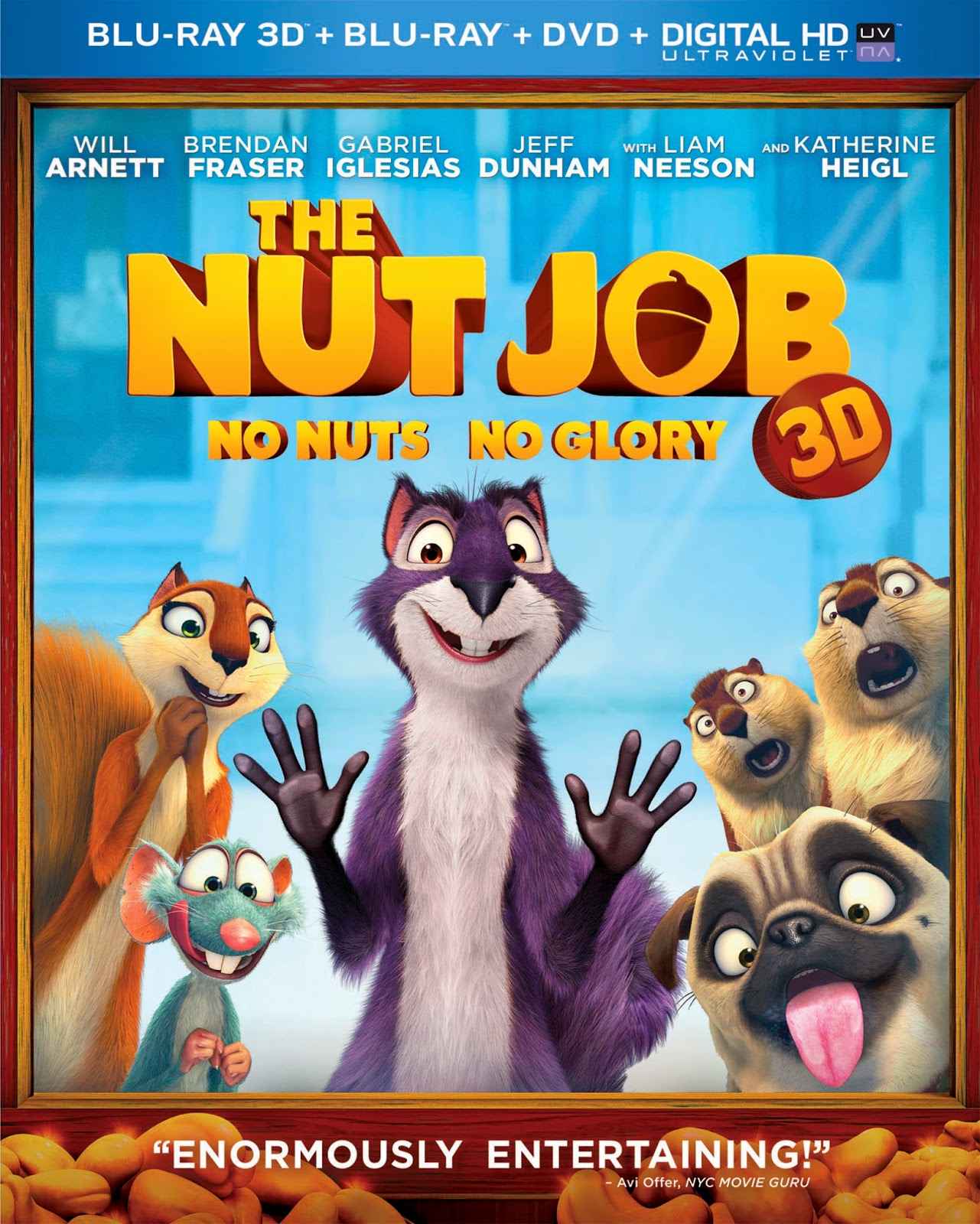7dc8861ea80d WIN The Nut Job Blu-ray Combo, Check Out Squirrels In Pop Culture &  Printable Fun #giveaway #TheNutJob