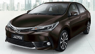 Harga Toyota Corolla Altis Phantom Brown Metallic di Pontianak