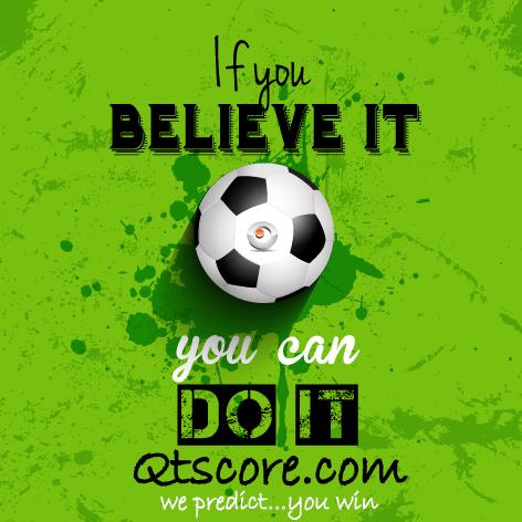 Qtscore soccer predictions   We Predict       You Win