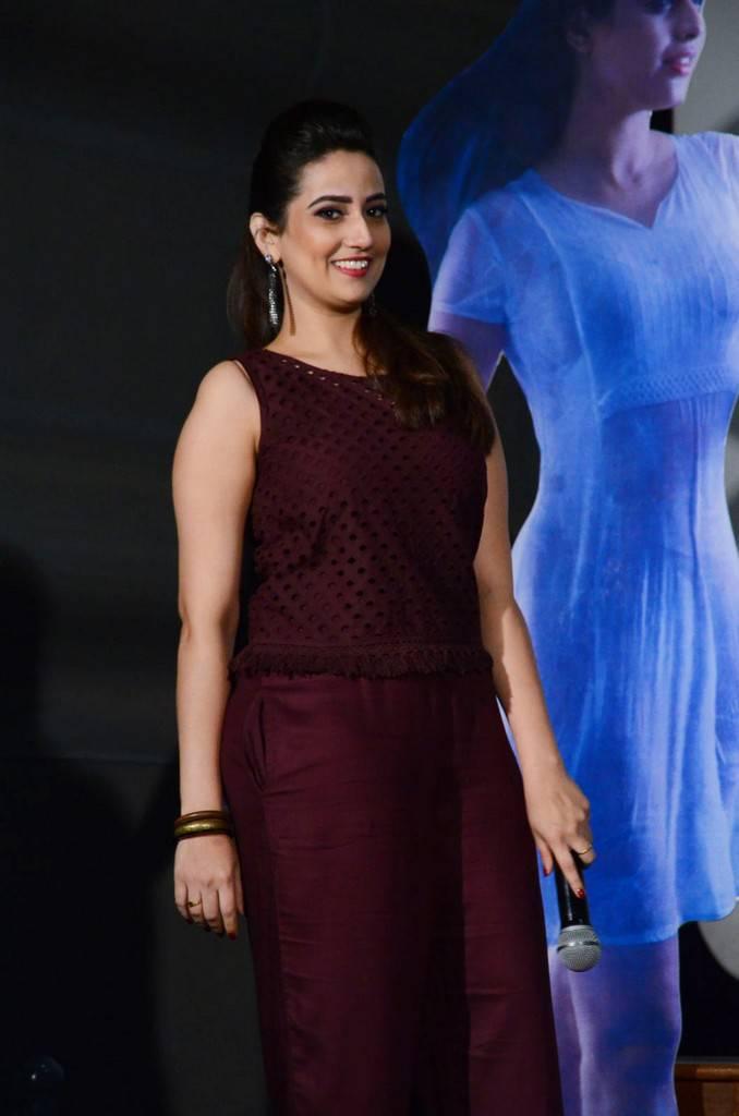 TV Actress Manjusha Stills At Srivalli Movie Trailer Launch