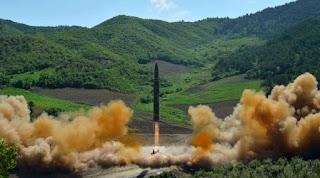 Peluncuran rudal balistik antarbenua Hwasong-14, ICBM