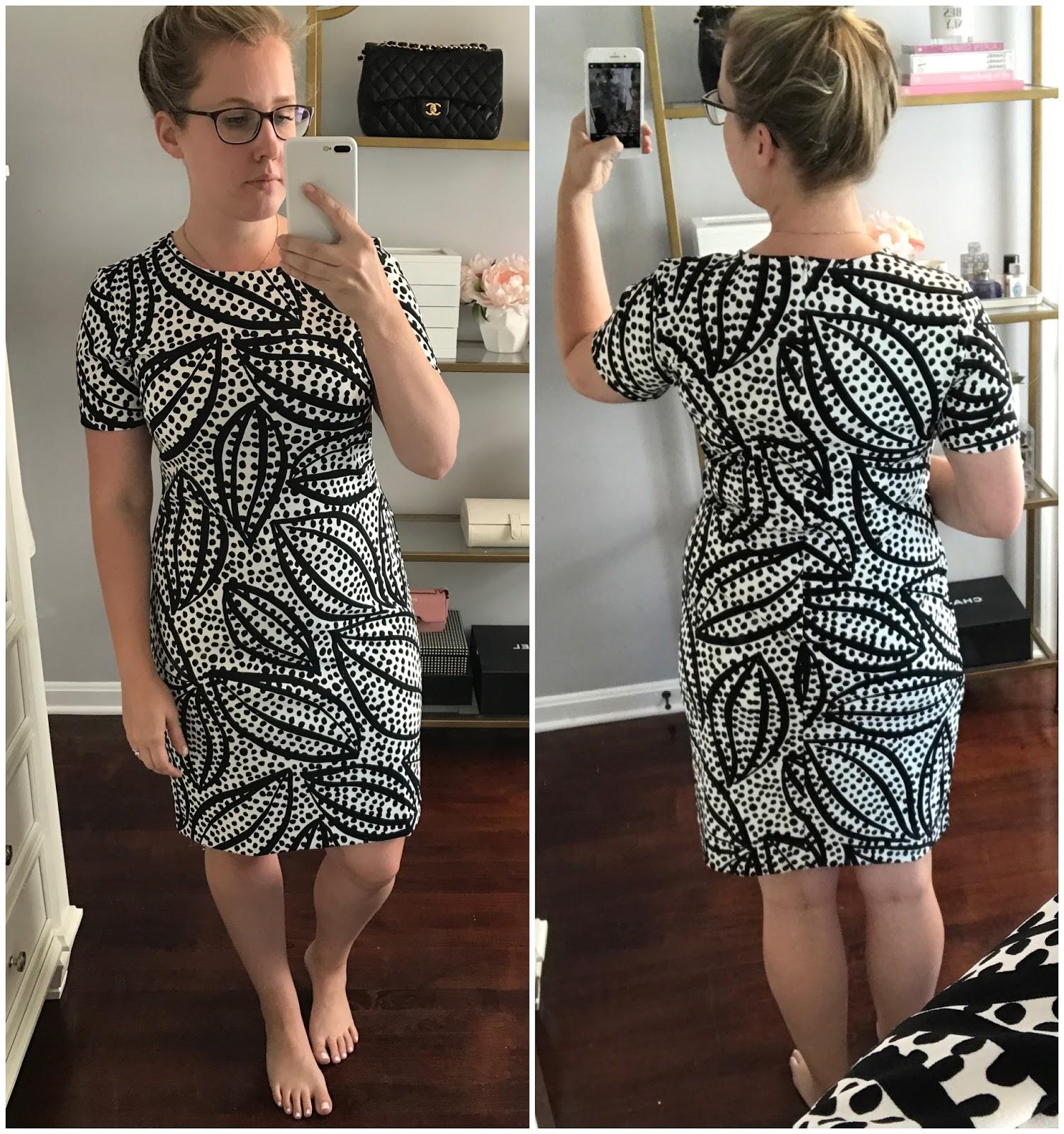 Cheetah Leaf Shift Dress