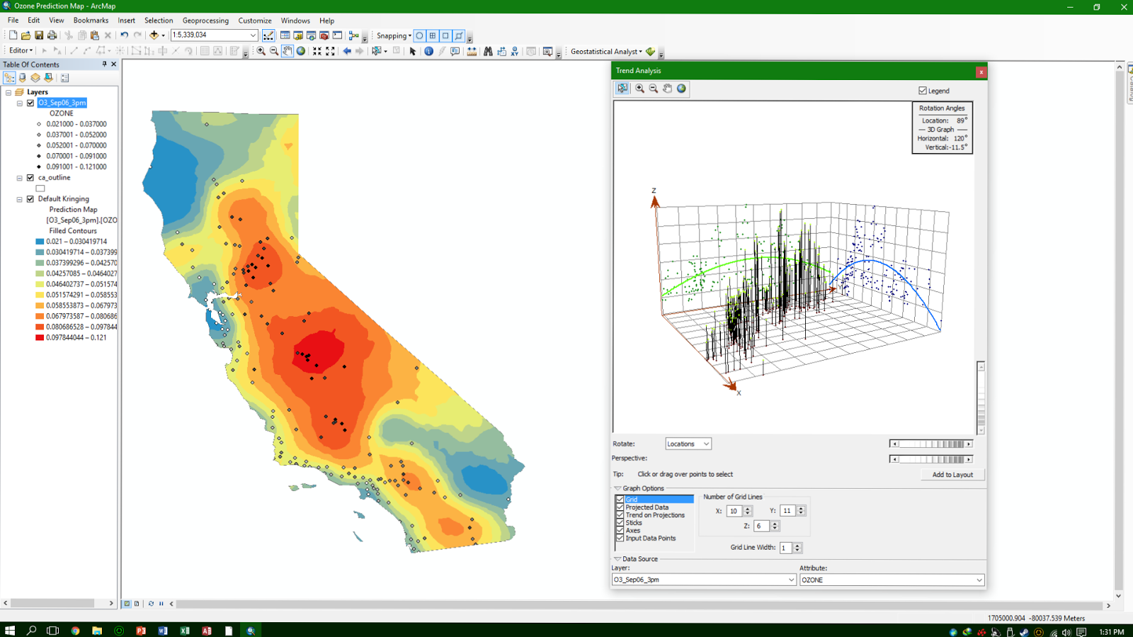Science Geomatics Notes and Supplements: Lab 3 ArcGIS