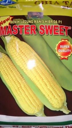 rasa manis, benih jagung manis, jagung manis master sweet, tahan bulai, tahan kresek,buah besar,umur genjah,benih,petani, Cap Kapal Terbang, Harga Murah