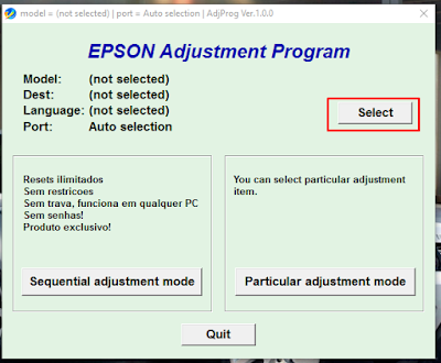 epson l220 l130 l310 l360 l365 resetter download instruction