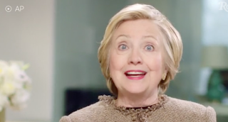 [WATCH] Hillary Clinton Is Back, Urging Women To Be Bold