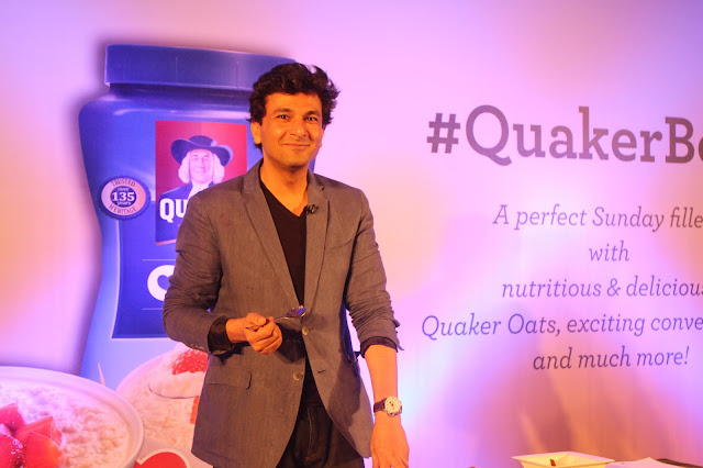 Chef, Chef Vikas Khanna, Quaker, Quaker India, Oats, Benefits of Oats, Healthy living, Nutrition, Nutrition Talk, Health Issues, Health issues in India
