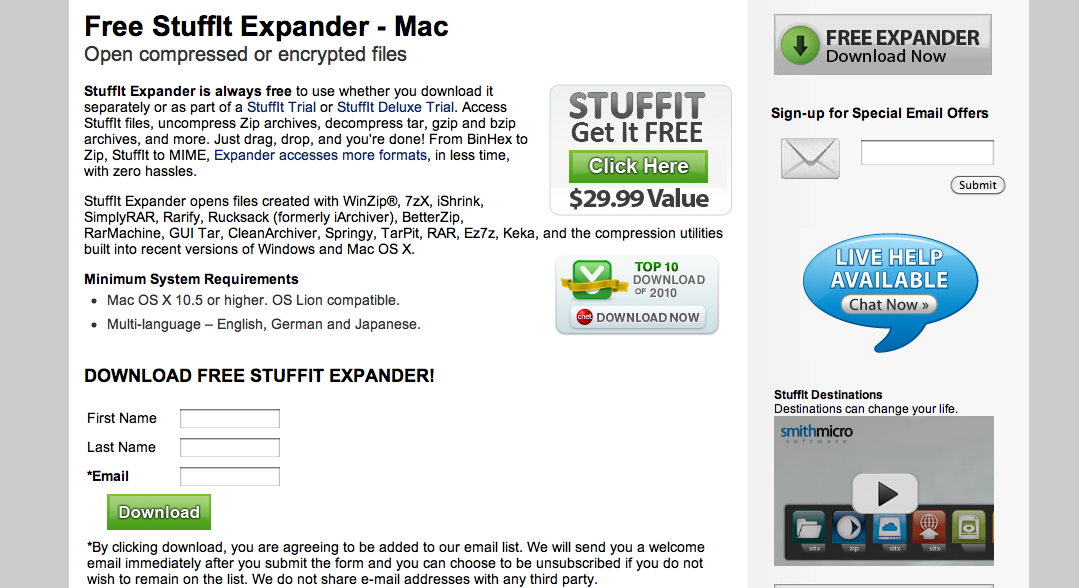 MyMediabox: Install Stuffit Expander for MAC