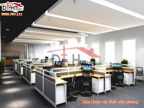 Sửa chữa văn phòng làm việc với phong cách mới lạ đặc biệt