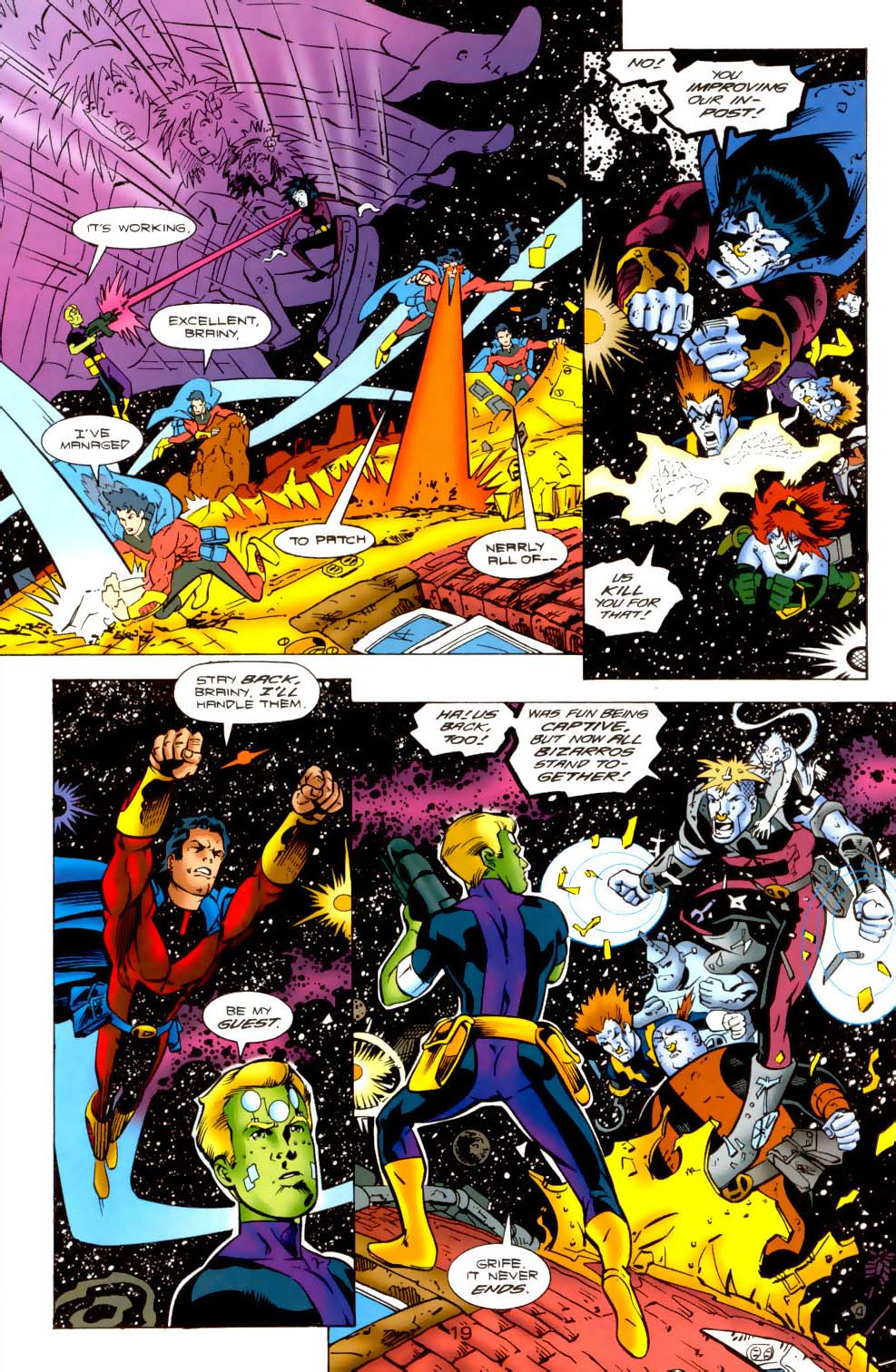 Legion of Super-Heroes (1989) 115 Page 18