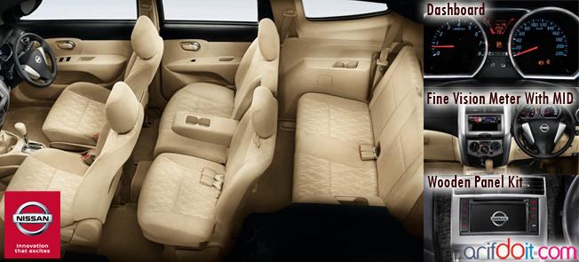 Nissan Grand Livina Memiliki kabin luas