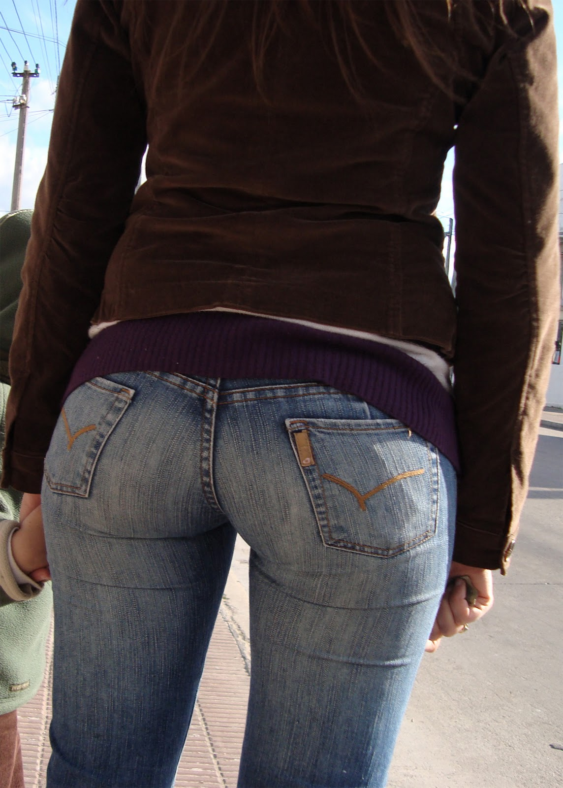 Candid Bubble Butt Jeans-4747