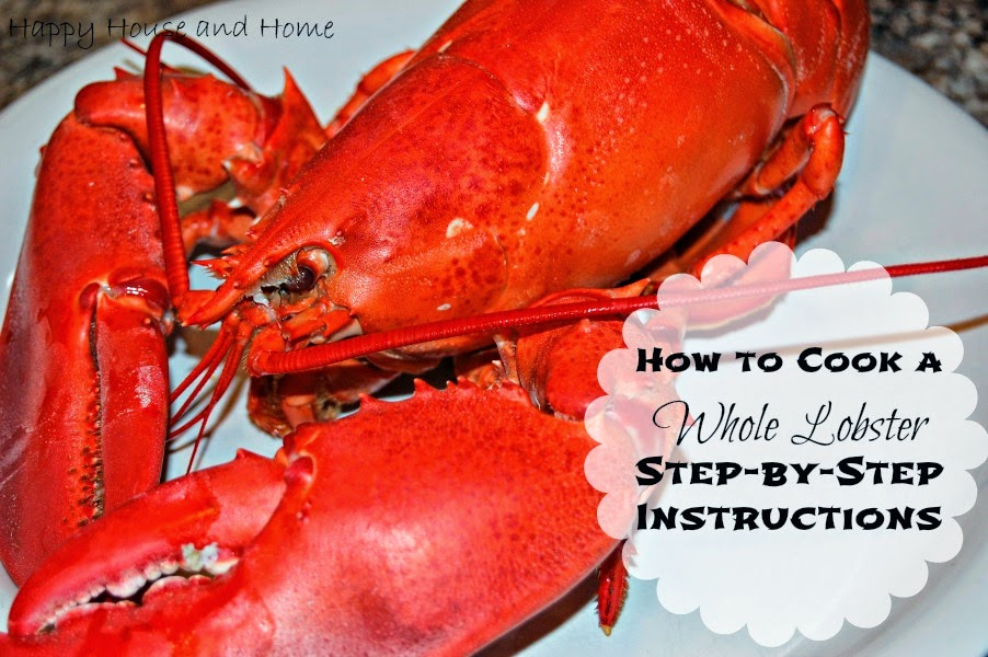 how to eat a whole steamed lobster