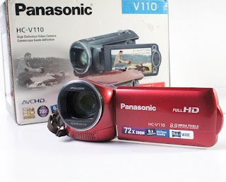 Jual Handycam Panasonic GC-V110 Full HD bekas
