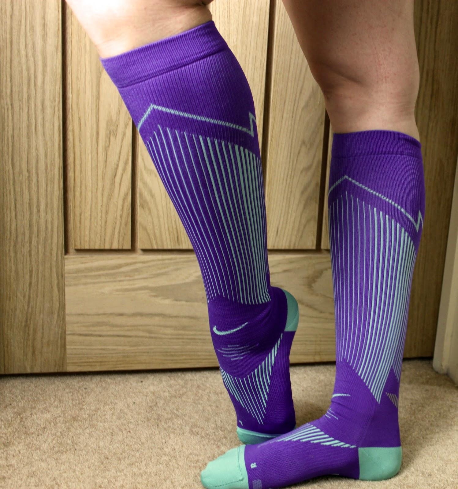 6fd9a7c590 MarathonHarry: Worth The Hype? Nike Elite Graduated Compression Socks