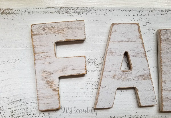 distressed DIY sign