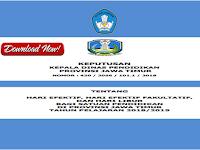 Kalender Pendidikan Tahun 2018/2019 Provinsi Jawa Timur