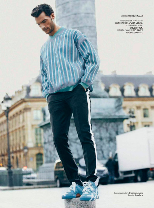 U POWER Pantalone da Uomo Drift Deep Blue