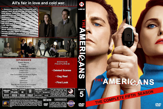 The Americans Season 5 DVD Cover