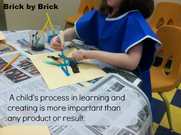Process more important (Brick by Brick)