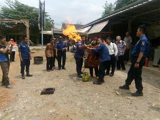 Dinas Pemadam Kebakaran Kota Cirebon Lakukan Penyuluhan Kesiapsiagaan di Kelurahan Argasunya