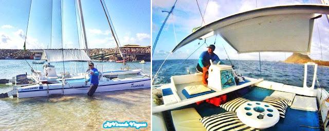 Passeio de barco em Fernando de Noronha
