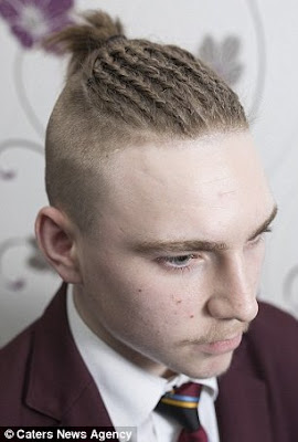 Https Www Gistmore 15yr Old Boy Sent Home School Wearing Hairstyle Photos