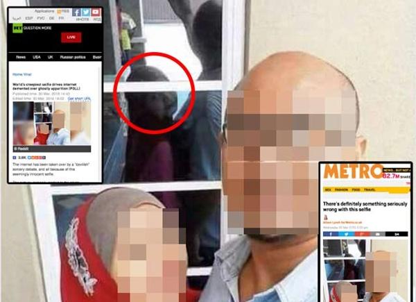 Gambar Selfie Seram Kini Jadi Viral Di Luar Negara