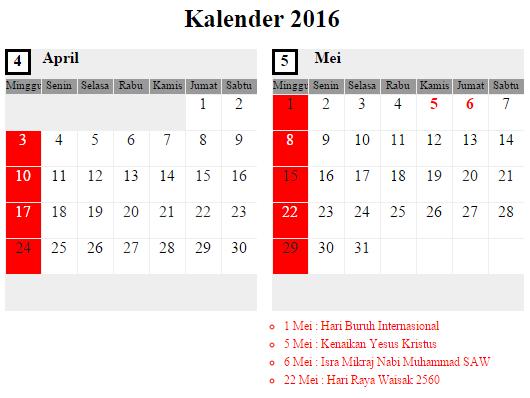 Jadwal Umroh April 2016