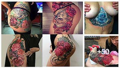 fotos de tatuajes de flores
