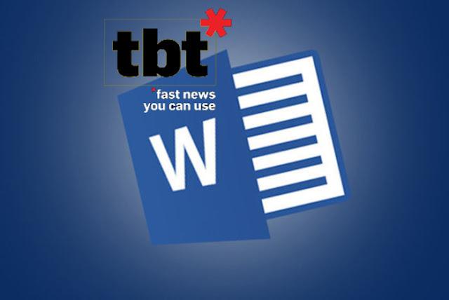 Microsoft Word: Cara membuka atau mengimpor format file lain di Microsoft Word
