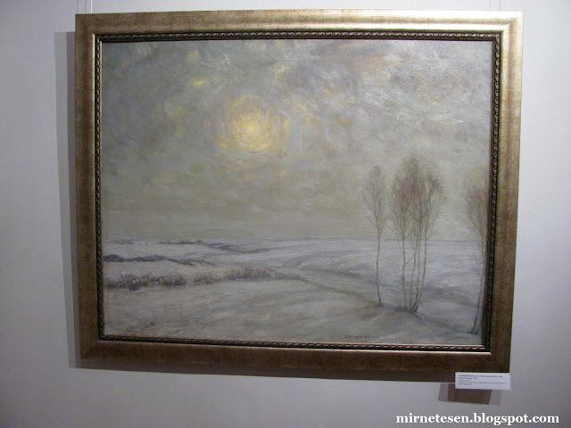 Рязанский художественный музей - Зимний пейзаж, Бакшев