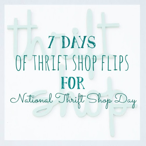 7 Days of Thrift Shop Flips for National Thrift Shop Day - Day 6 - Shovel