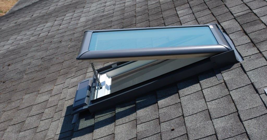 how to clean remove a skylight