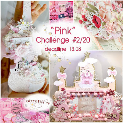 Challenge #2/20 - Pink