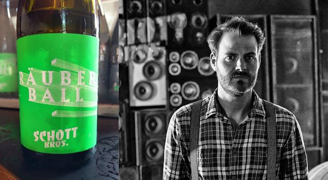 Winzer und Gin-Erzeuger Benjamin Schott.