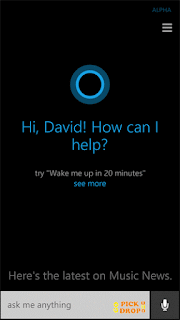 Microsoft Speech Recognisation System Cortana by Gopickndrop.com