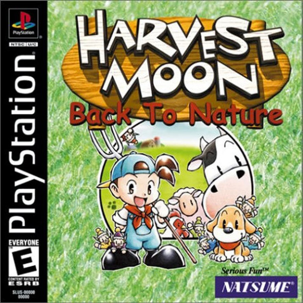 Harvest Moon - Back to Nature Indonesian Version (PSX