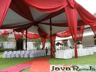 Rental Tenda Dekorasi - Pernikahan