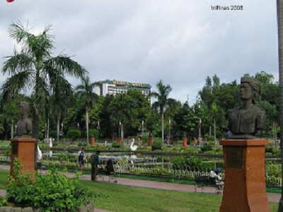 historical park in town