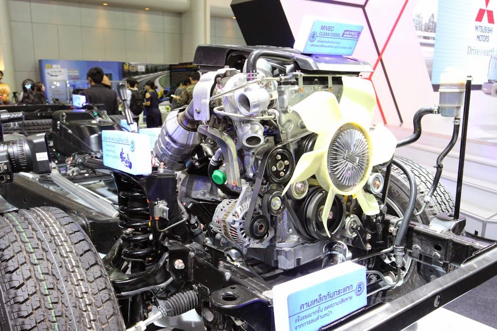 Thailand Motor Expo Mitsubishi Strada on 4 6 Triton Engine Review