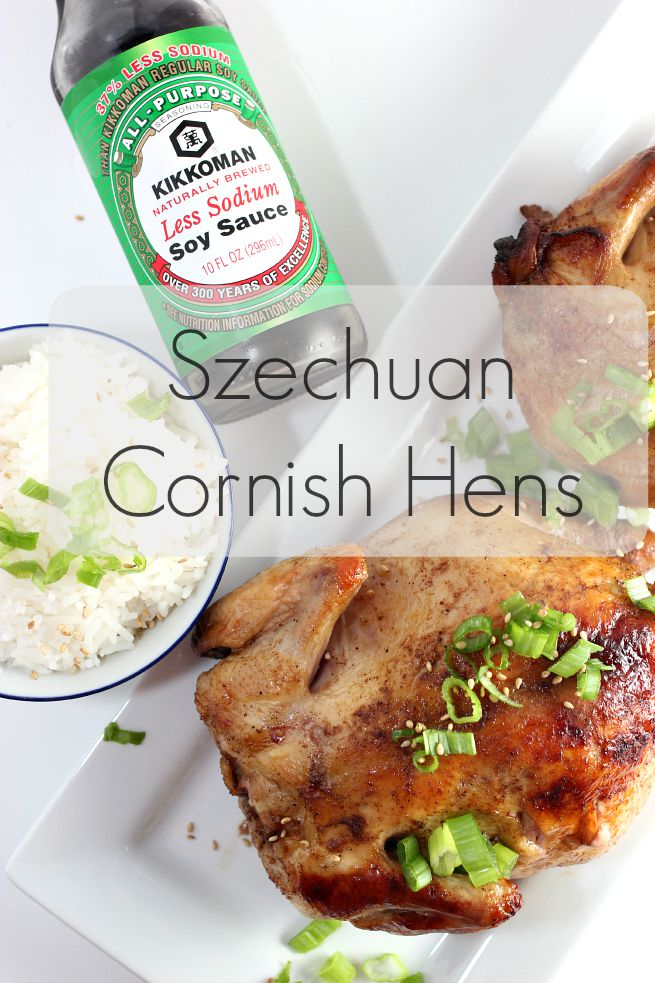 [ad] Recipe: Szechuan Cornish Hens